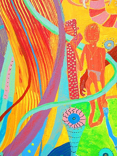 The Spiritual Revolution Project - Vision - Tableau B - Detail 2 - Participation